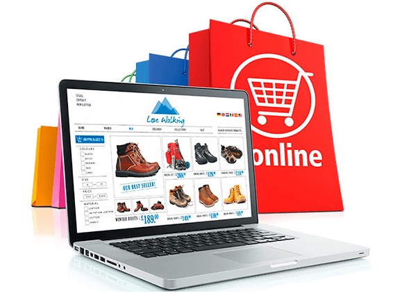 Development of a website online store price